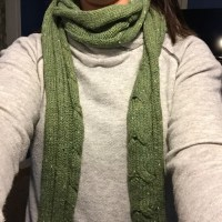 Old Navy Accessories | Green Winter Knit Scarf | Poshmark