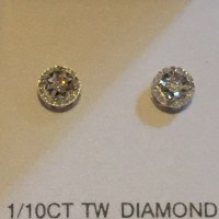 Authentic Diamond earrings brand new in box OS from Brooke ...