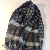 58% off Wet Seal Accessories - Black and silver scarf ...