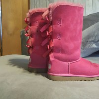 71% off UGG Other - SaLe! Cheap!!! Pink Bow tie Uggs ...