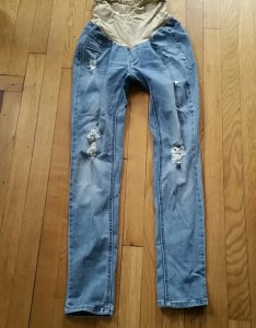 Jessica simpson denim maternity ripped destructed skinny also jeans poshmark rh