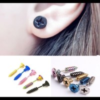60% off Jewelry - Earrings screws! Variety of colors pair ...