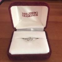 Helzberg Diamonds Jewelry | 10k Two Heart Promise Ring ...