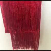 Red and black long light scarves price is for both OS from ...