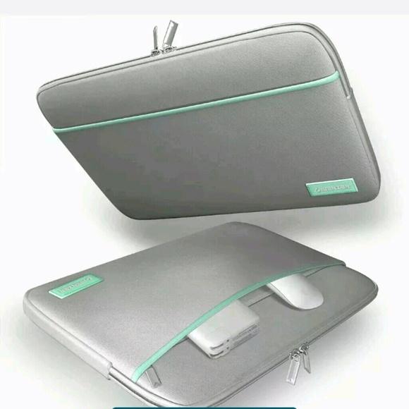 60 off Zara Handbags Ibenzer Mint GreenGray Macbook