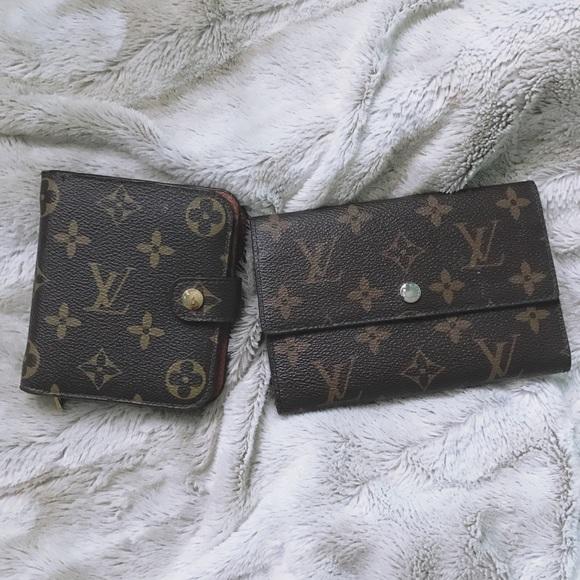 Louis Vuitton Bags Dupe Wallet Set