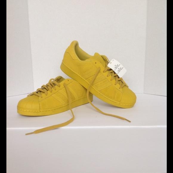 Adidas Adidas Originals Superstar RT yellow Suede from