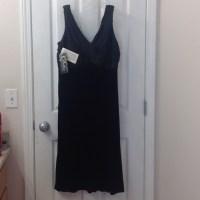 K Studio Collection - Sexy Black Dress w/ Velvet Skirt ...