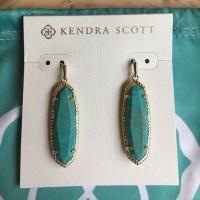 Kendra Scott - NWT KENDRA SCOTT TURQUOISE/GOLD LAYLA ...