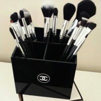 CHANEL - Chanel vanity makeup brush holder organizer from ...