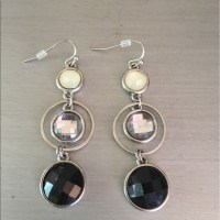 25% off Versona Jewelry -  Versona Black Cream Silver ...
