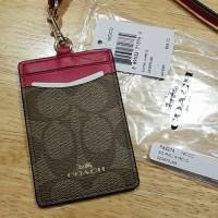 63% off Coach Accessories - New Coach Signature Lanyard ID ...