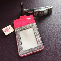 PINK Victoria's Secret - New VSPink ID holder with lanyard ...