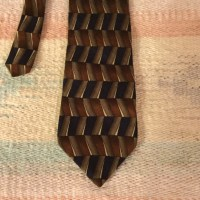 Ziggurat by Mulberry - Silk tie Ziggurat by Mulberry ...