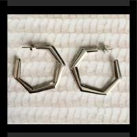 Lia Sophia - NWOT Lia Sophia silver hoop earrings from Sue ...