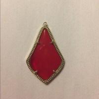 Kendra Scott - single kendra scott red alex earring from ...