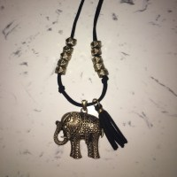 68% off Jewelry - Gold elephant necklace and earrings set ...