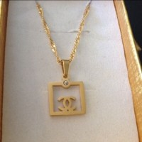 33% off Jewelry - Chanel style earrings and necklace gold ...