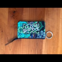 Vera Bradley - Vera Bradley Blue Rhapsody Wallet/ID Holder ...