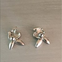 43% off Playboy Jewelry -  Silver Diamond Playboy Bunny ...