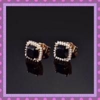 100% off Boutique Jewelry - Princess Cut Dark Blue Topaz ...