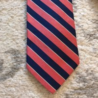 73% off Brooks Brothers Other - Navy blue & pink/salmon ...