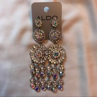 Aldo - GORGEOUS Silver Chandelier Earring Indian Inspired ...
