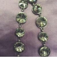 Nasty Gal - HP Crystal Fallz Earrings in Gunmetal from ...