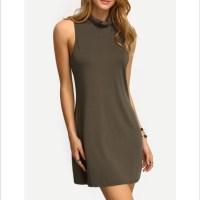 45% off Dresses & Skirts - Plus Size Summer Mock Neck A ...