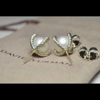 36% off David Yurman Jewelry - Cable Pearl Stud Earrings ...