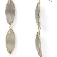 Kendra Scott - Kendra Scott Harrah Earrings in Slate from ...