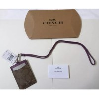 50% off Coach Accessories - New Coach Signature Lanyard ID ...
