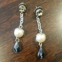 74% off Sabika Jewelry - Sabika Silver Drop Earrings w ...