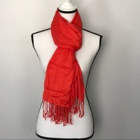 36% off Apt. 9 Accessories - Apt 9 Long Orange Scarf with ...