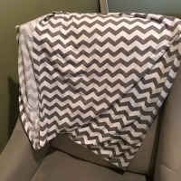 40% off itsy ritzy Accessories - Grey and White Chevron ...
