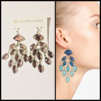 Kendra Scott - KENDRA SCOTT  Gwen Chandelier Earrings NWT ...