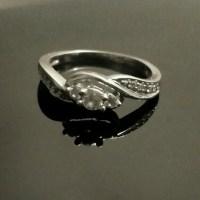 "63% off Zales Jewelry - White Gold & Diamond ""Eternity ..."
