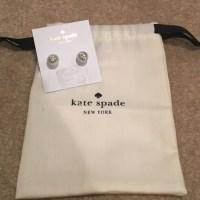 kate spade - NWT Kate Spade Pearl Earrings w Star Stud ...