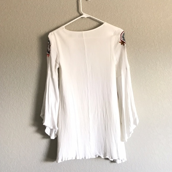 Image Result For My Bell Loved Ivory Embroidered Shift Dress Lulus