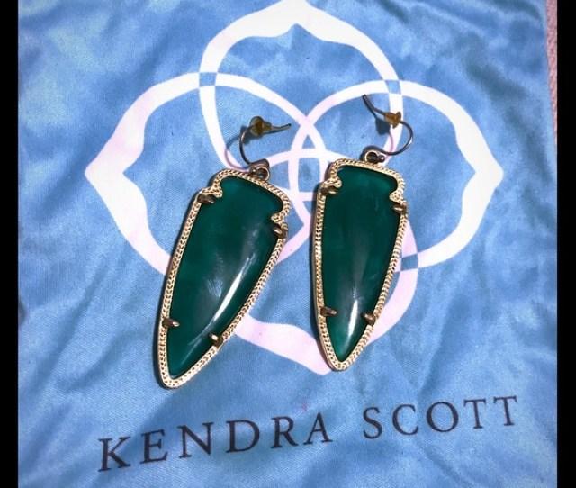 Kendra Scott Skylar Green Skylar Earrings