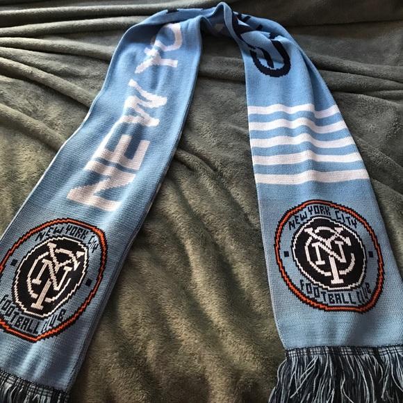 nyc football club scarf
