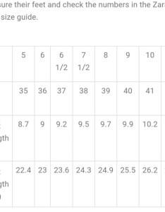 Zara shoe size chart also shoes poshmark rh