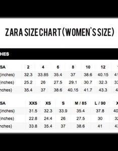 Zara jeans size chart dolap magnetband co also gungoz  eye rh