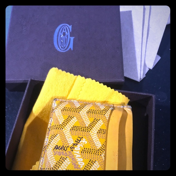 Goyard Accessories 100 Authentic Used Wallet Card