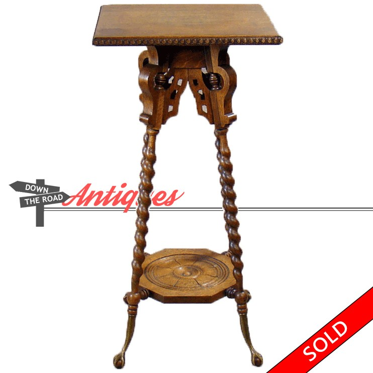 unusual chair legs sunbrella outdoor cushions oak table with rope twist and brass claw feet dtr carved from the 1890 s