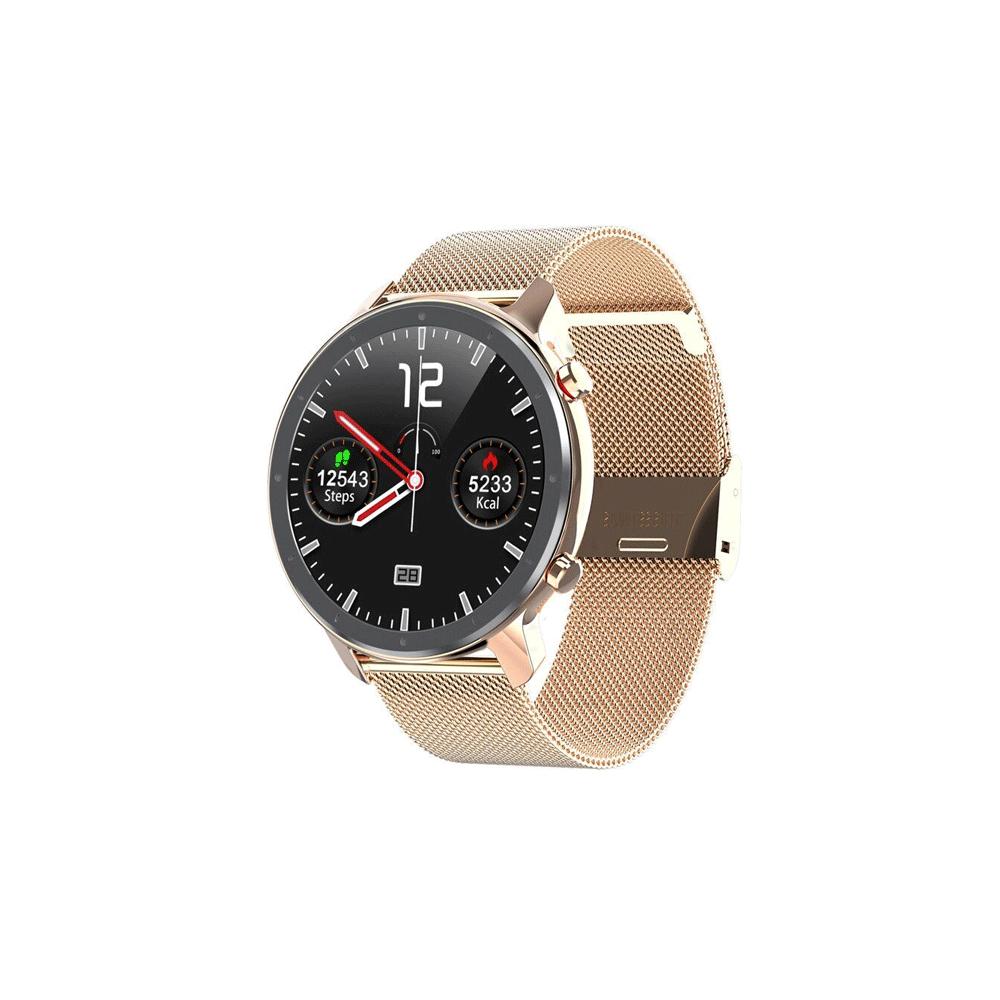 Microwear L11 Smart Watch -Pink Magnetic