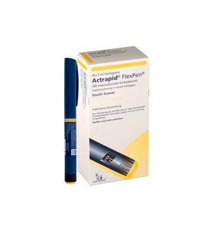 Buy Actrapid FlexPen Insulin Pen From DIACARE