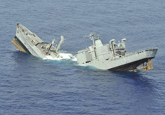 What Does It Take to Sink a Ship? | Chuck Hill's CG Blog