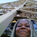 Omah at the Eiffel tower