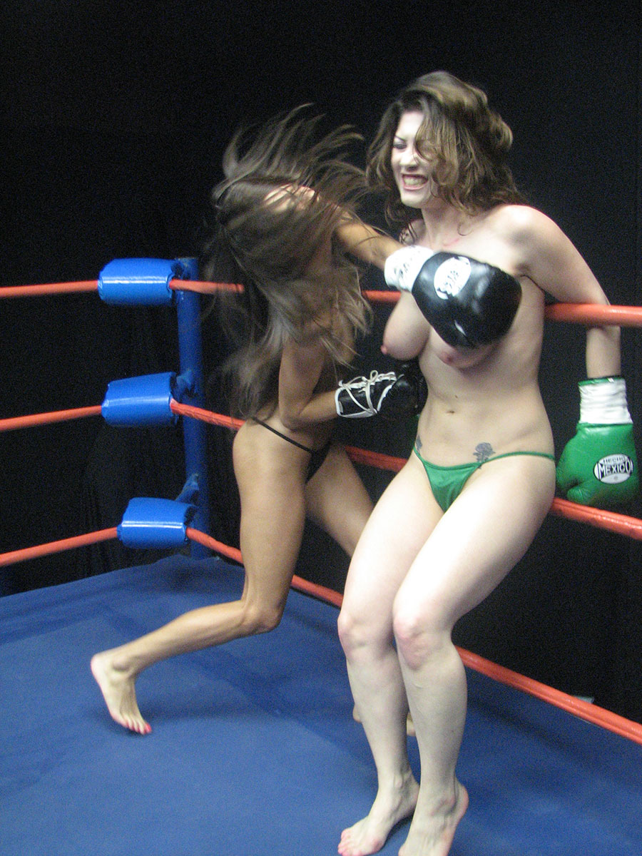 Boxing topless